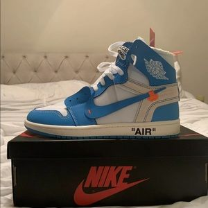 Other - Off-White Nike Air Jordan 1 UNC